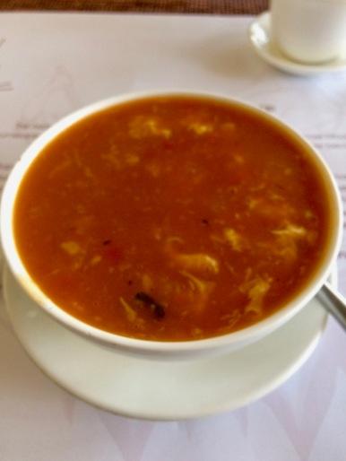 Tomato Egg-Drop Soup
