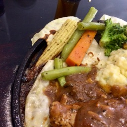 Chicken Steak Sizzler