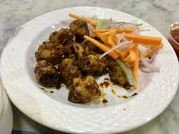 Tawa Fried Prawns