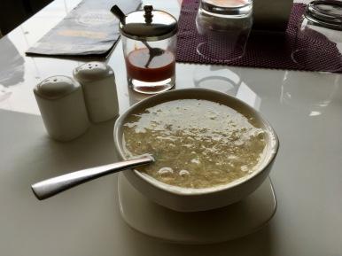 Sweet Corn Chicken Soup