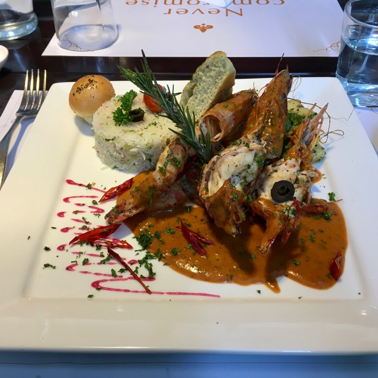 Mexicano Spicy Grilled Tiger Prawns