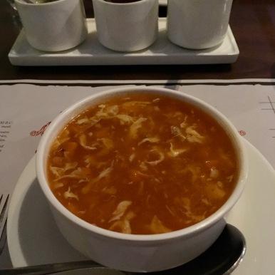 Chilly Garlic Chicken Soup