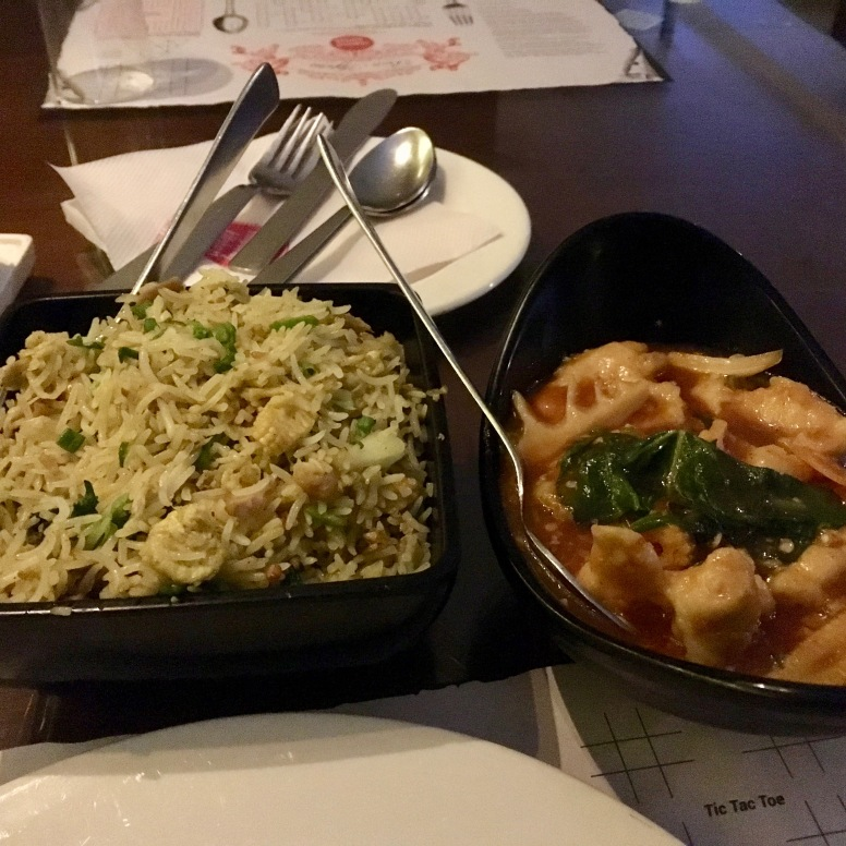 Jakarta Fried Rice & Sliced Chicken in Hot Garlic Sauce