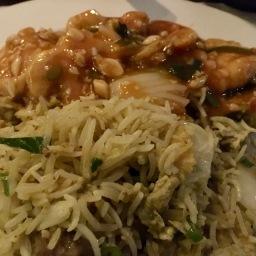 Jakarta Fried Rice & Chicken in Hot Garlic Sauce