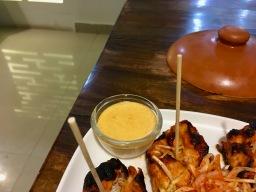 Spicy Mayo Dip with Ashrouf Chicken Tikka