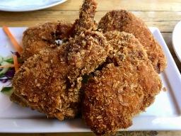 Buffalo Wings with Mango & Jalapeno Dip