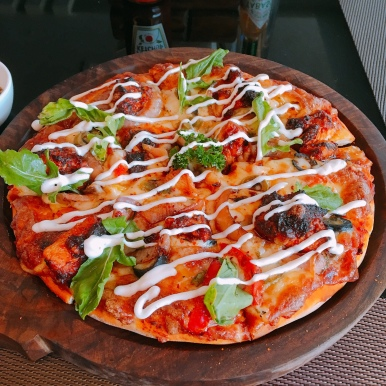 Peri Peri Chicken Pizza