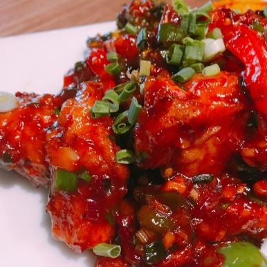 Korean style Chilli Chicken